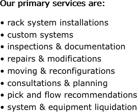 Industrial Installers Pallet Racking Sales Amp Installation